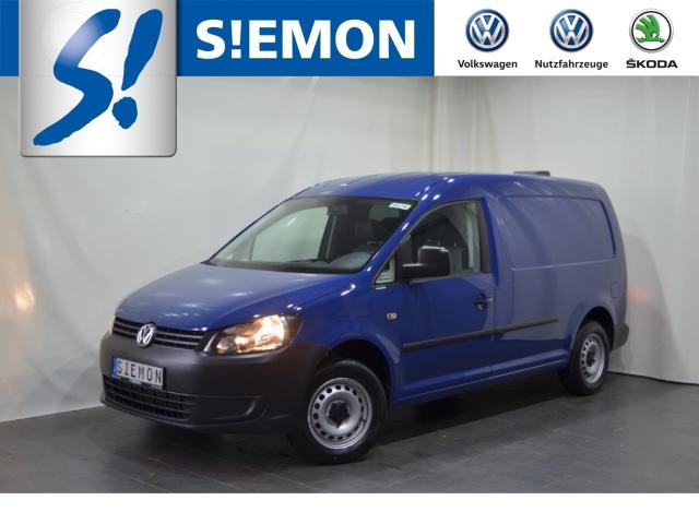 Volkswagen Caddy Kasten Kombi EcoProfi 1.6 TDI Leder Klimaautom SHZ CD MP3 ESP DPF Spieg. beheizbar, Jahr 2014, Diesel