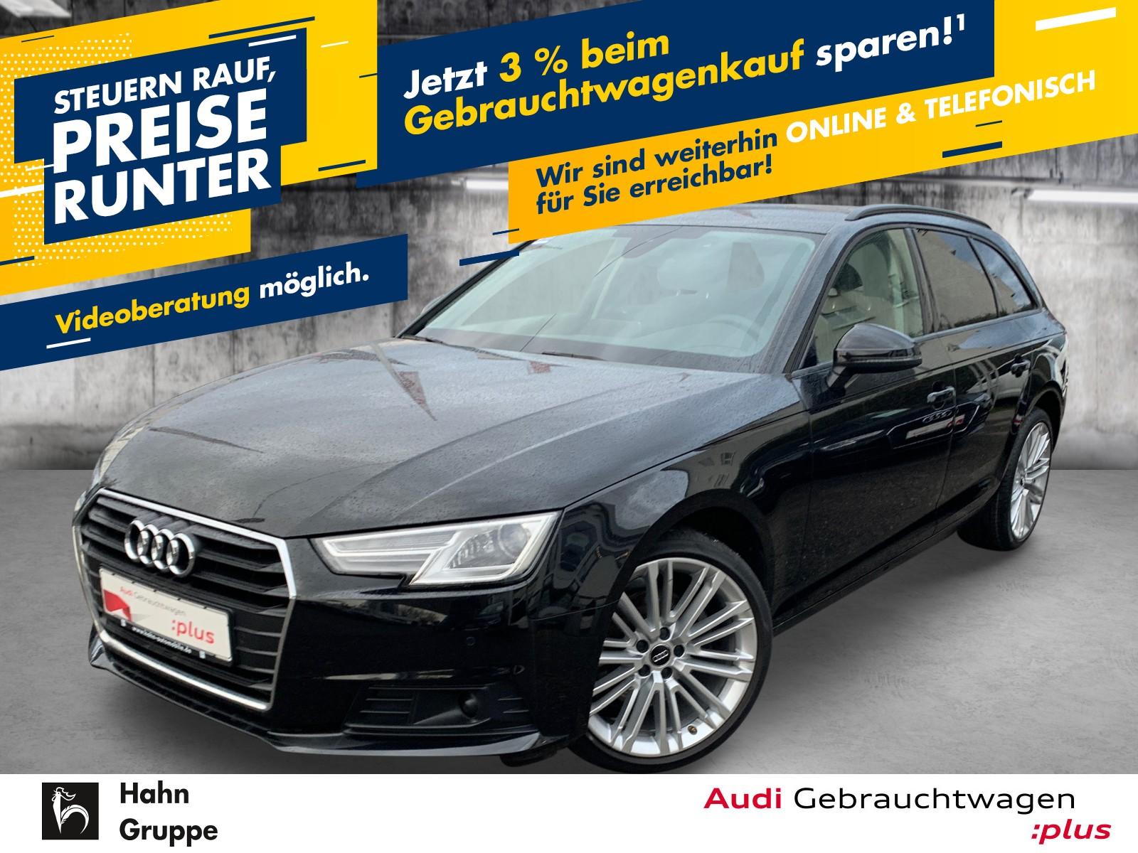 Audi A4 Avant 2.0TDI S-Trc Xen Virtual EinparkH Navi SitzH, Jahr 2017, Diesel