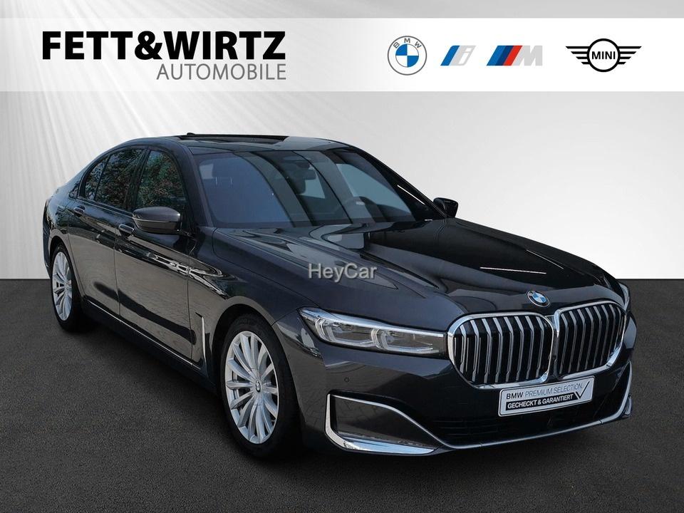 BMW 730d Limousine AHK Leas. ab 696,- br. o. Anz., Jahr 2020, Diesel