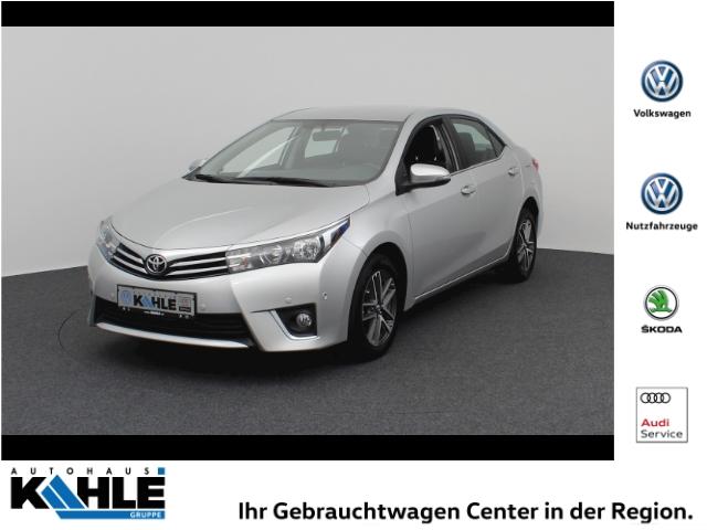 Toyota Corolla 1.6 Valvematic Life+ Automatik Navi Klima PDCv+h, Jahr 2013, petrol