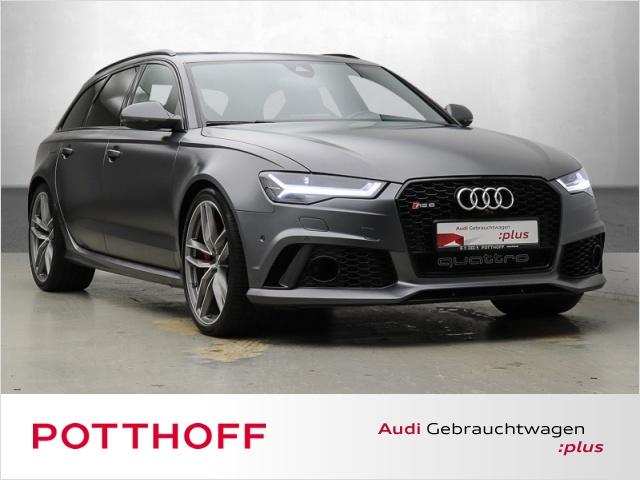 Audi RS6 Avant 4.0 TFSi q. HuD Kamera Pano DAB Leder BO, Jahr 2015, Benzin