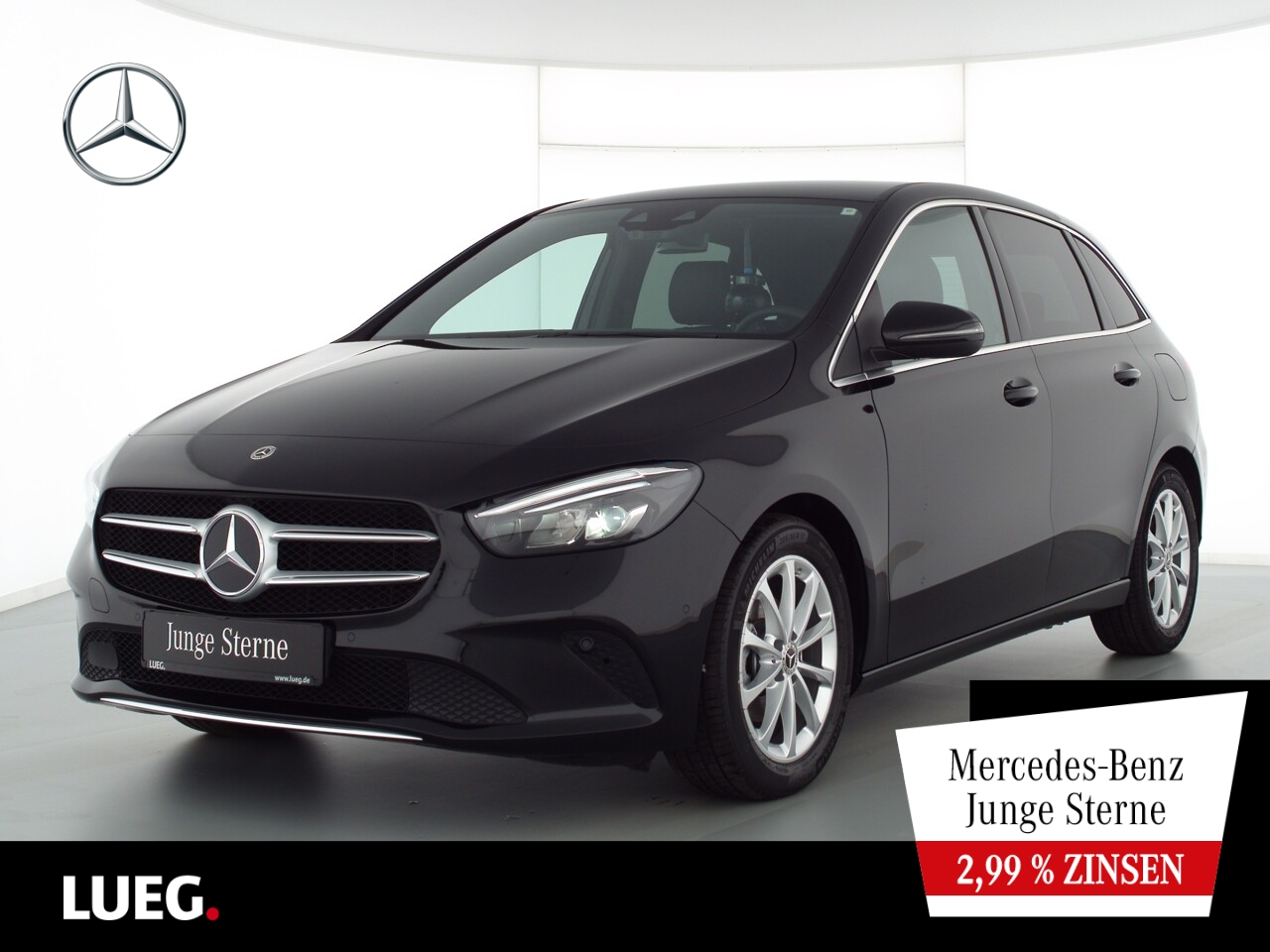 Mercedes-Benz B 180 d Progressive+MBUX+Navi+LED-HP+CarP+Kamera, Jahr 2020, Diesel