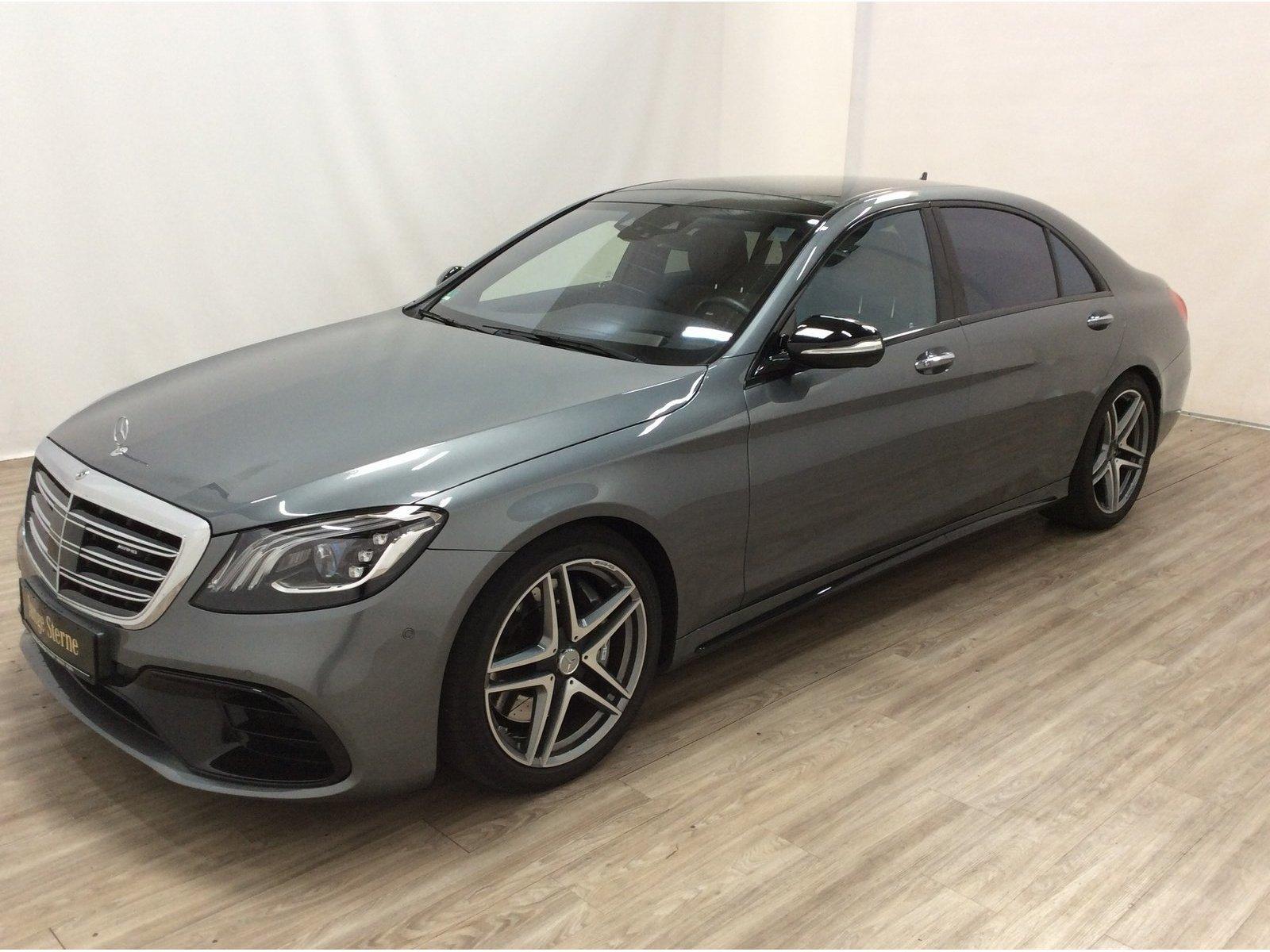 Mercedes-Benz S 63 AMG 4M lang Pano*Distr*MULTIBEAM*Kamera*HUD, Jahr 2018, Benzin