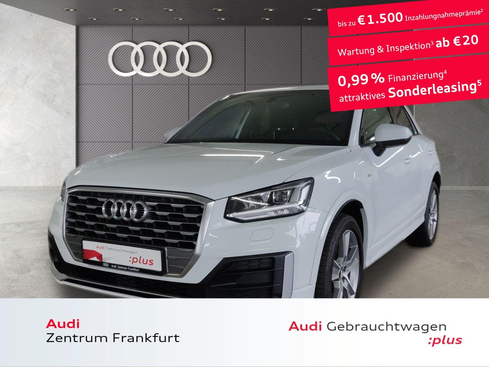Audi Q2 35 TFSI sport S tronic LED Navi DAB Tempomat, Jahr 2020, Benzin