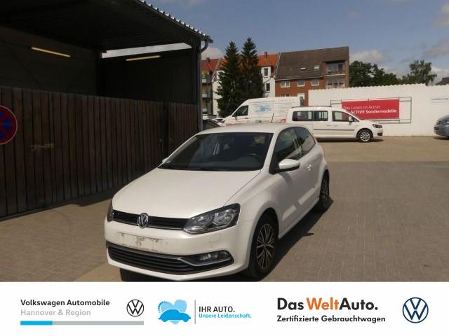 Volkswagen Polo 1.0 Allstar Climatronic SHZ LM, Jahr 2017, Benzin