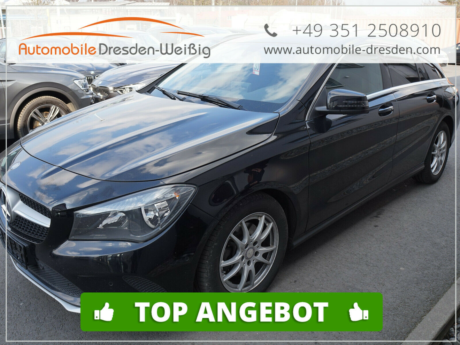 Mercedes-Benz CLA 200 Shooting Brake CDI / d Sport*Navi*Leder*, Jahr 2016, Diesel
