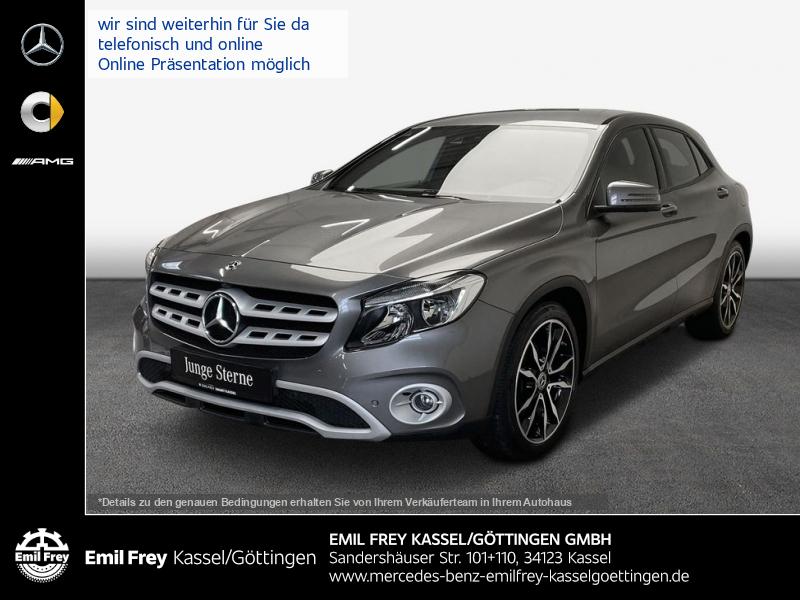 Mercedes-Benz GLA 220 4Matic+Exclusiv-Leder+Navi+HiFi+Spur+Klimaautom, Jahr 2018, Benzin