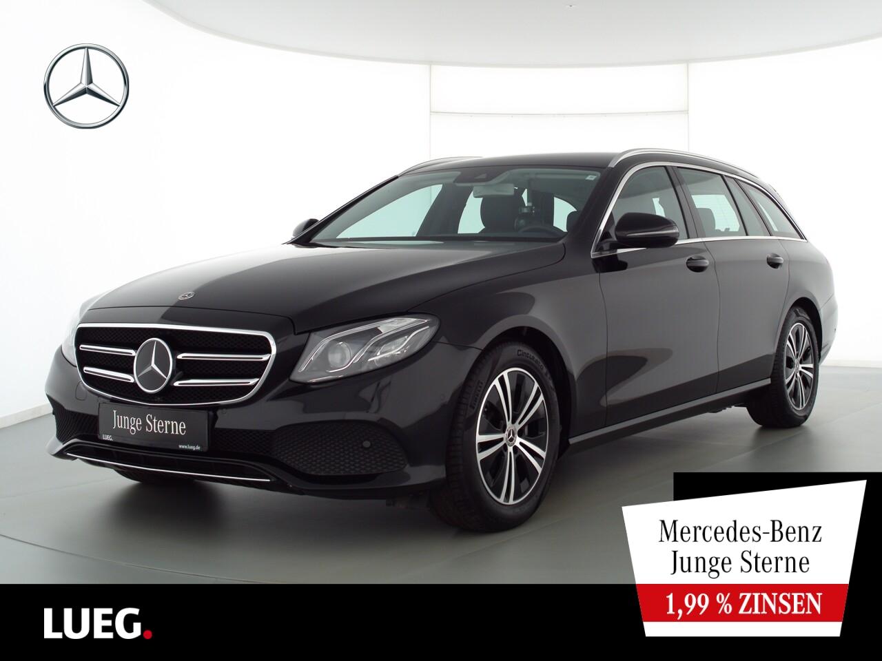 Mercedes-Benz E 200 T Avantgarde+COM+LED-ILS+Distr+ParkAss+RFK, Jahr 2020, Benzin