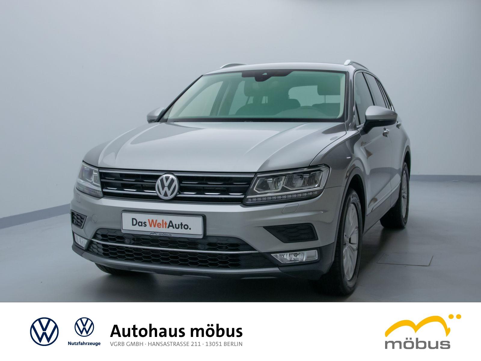 Volkswagen TIGUAN 2.0 TDI DSG HIGHL 4MOTION*AHK*NAVI*ASSIST*AID*APP*LED*USB, Jahr 2017, Diesel