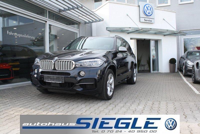 BMW X5 M50d LED Navi Panorama-SD AHK Head-Up M-Paket 1.Hand, Jahr 2015, Diesel