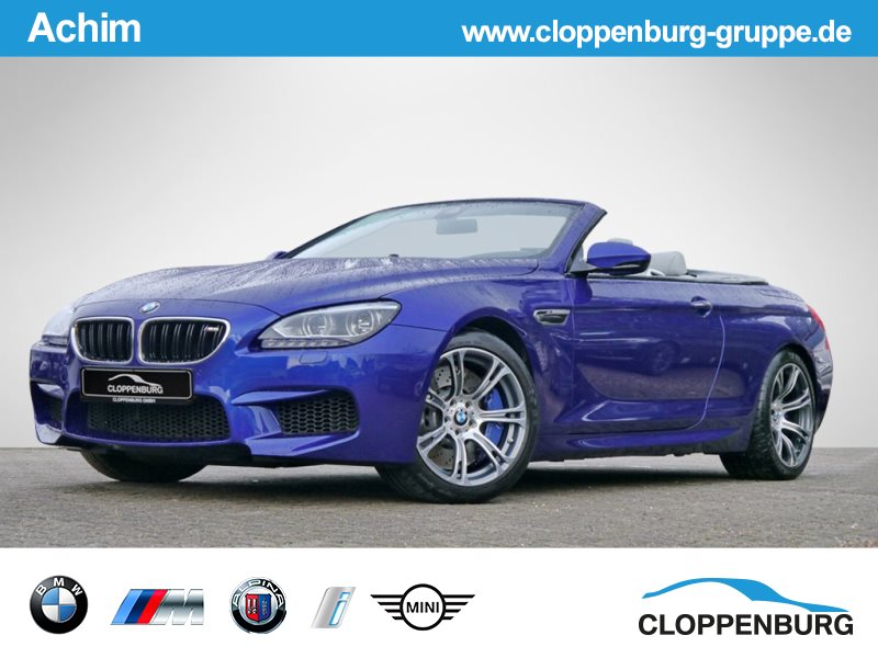BMW M6 Cabrio HEAD-UP KAMERA DRIVING-ASSIST LED HK -, Jahr 2014, petrol