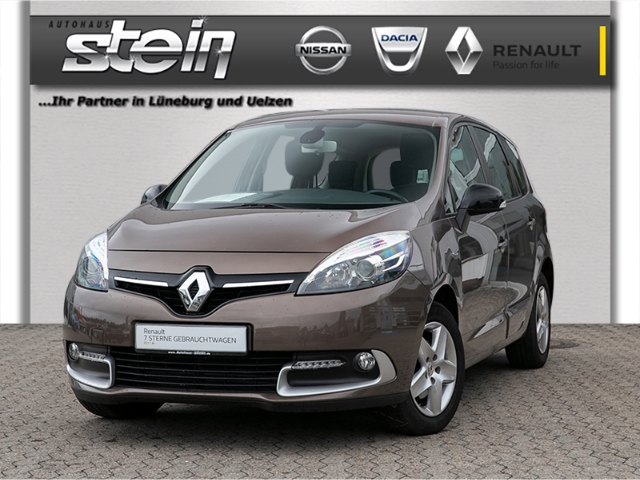 Renault Scenic III Grand Limited TCe 130 2-Zonen Klima, Jahr 2015, Benzin