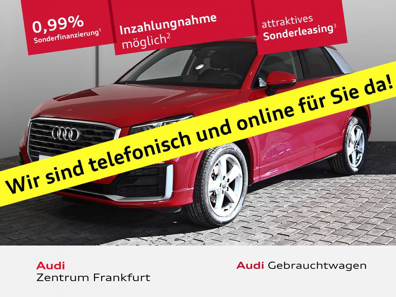 Audi Q2 30 TDI S line Navi LED PDC Sitzheizung Tempomat Bluetooth, Jahr 2019, Diesel