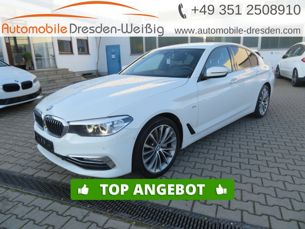 BMW 520 d Luxury Line*Navi Prof*Leder*HiFi*Kamera*, Jahr 2018, Diesel