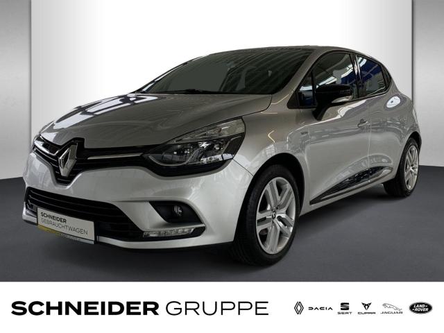 Renault Clio 1.2 16V 75 LIMITED SHZ+PDC+KLIMA+NSW+USB, Jahr 2016, Benzin