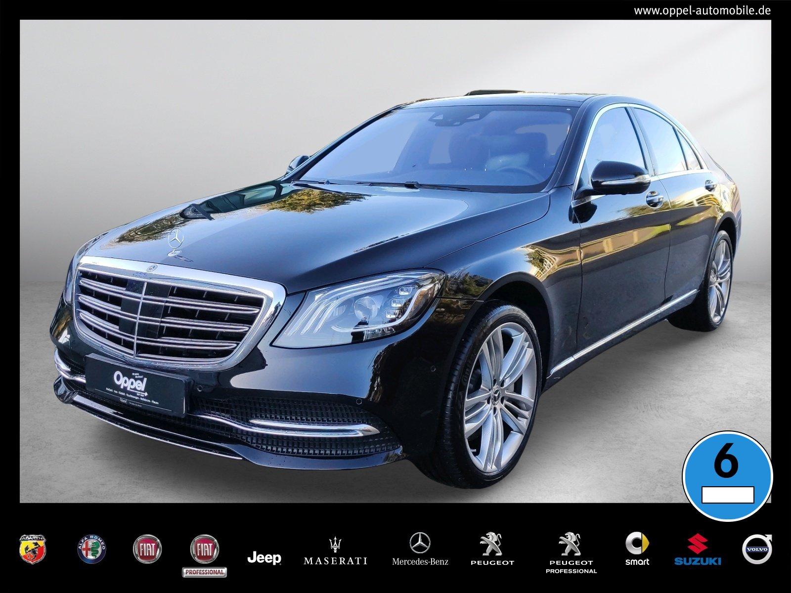 Mercedes-Benz S 560 Limousine NAVI+DISTRONIC+PANO+HUD+360°KAM, Jahr 2018, Benzin
