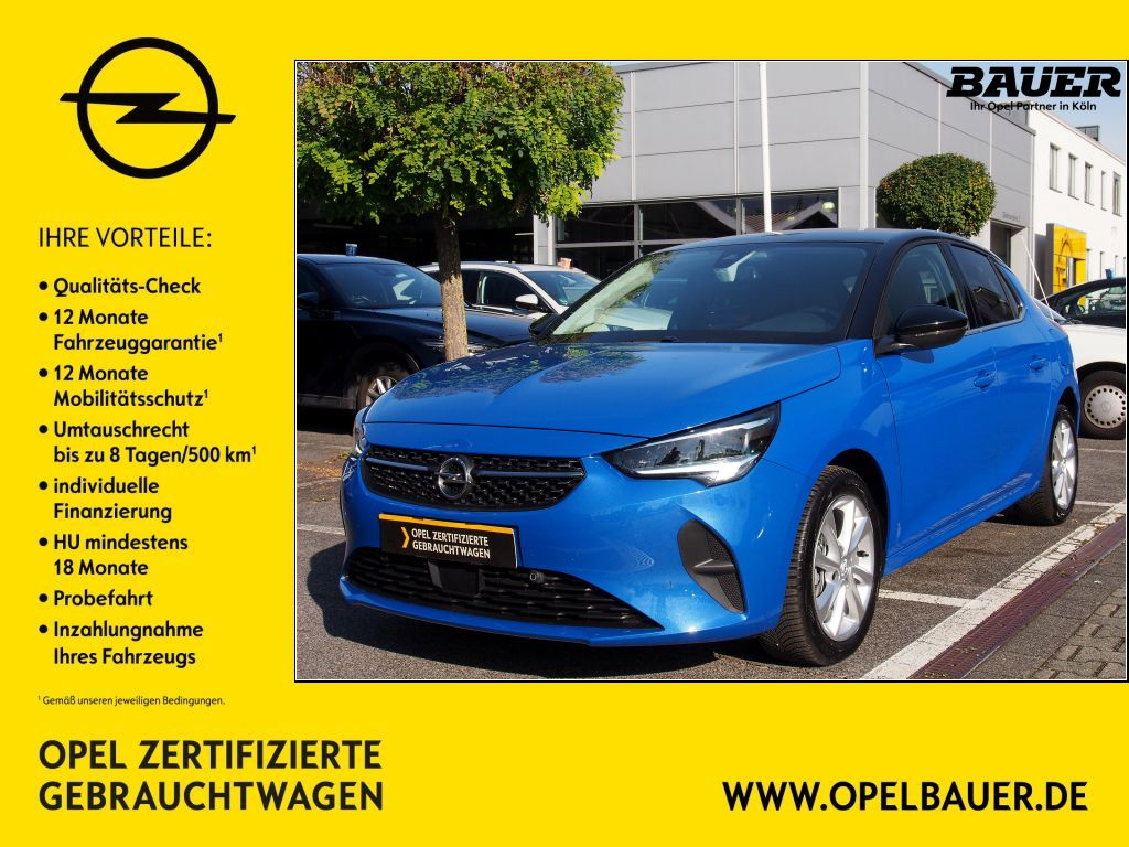 Opel Corsa 1.2 Elegance Turbo Start/Stop, Jahr 2021, Benzin