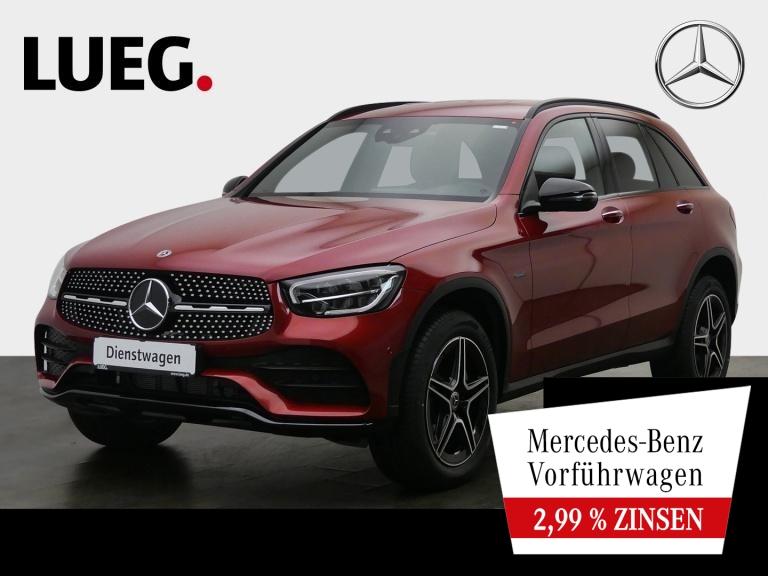 Mercedes-Benz GLC 300 e 4M AMG+NIGHT+AHK+TOTW+KEYLESS+PTS+KAM., Jahr 2020, Hybrid