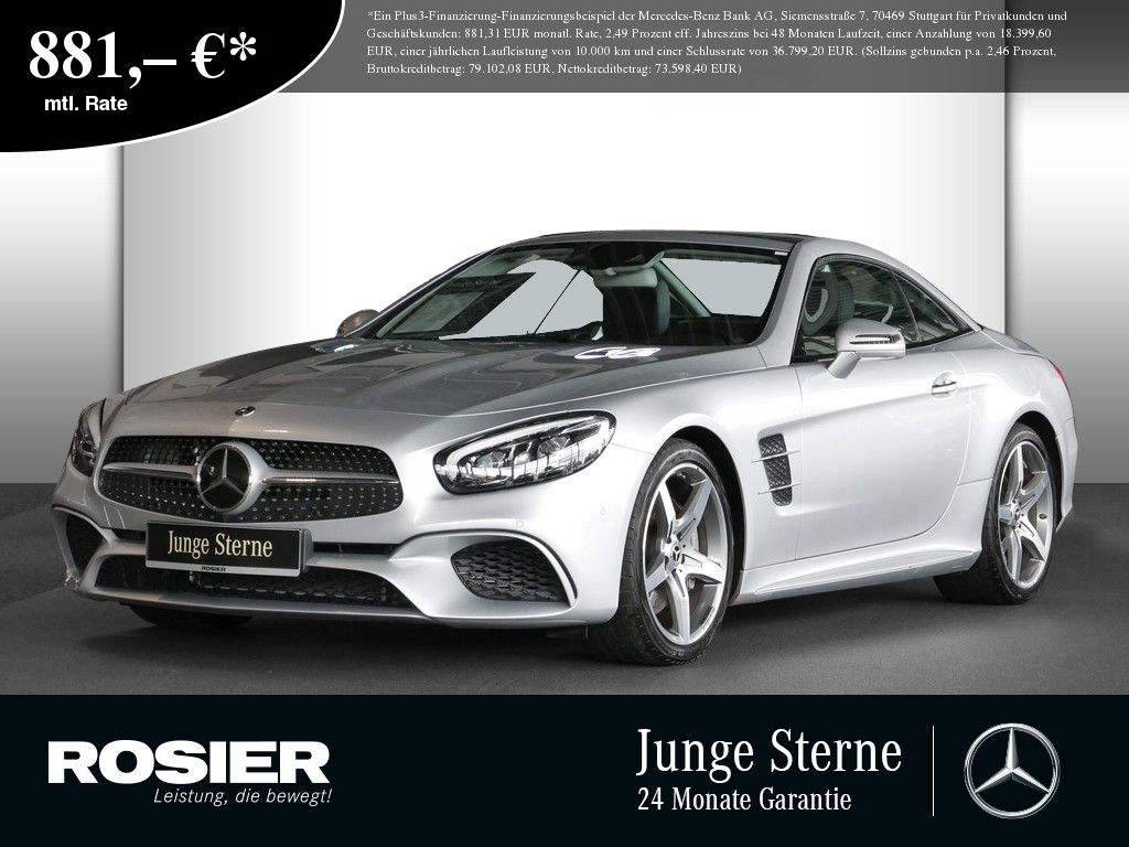 Mercedes-Benz SL 400 AMG Line, Jahr 2020, Benzin