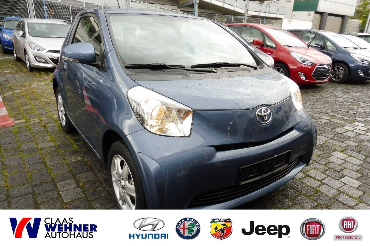 Toyota IQ 1.0 Automatik *Klimaanlage, Jahr 2014, petrol