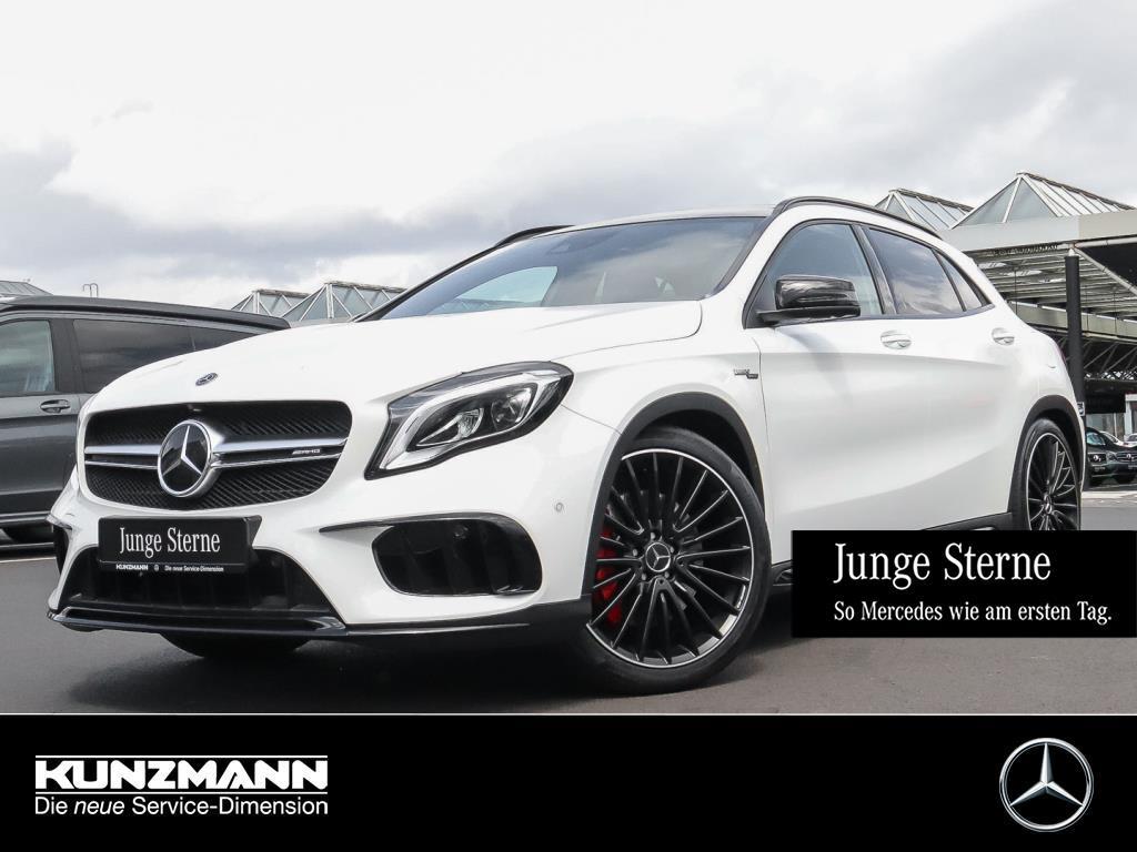Mercedes-Benz GLA 45 AMG 4M Exclusive Night Comand Distronic+, Jahr 2019, Benzin