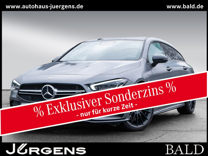 Mercedes-Benz CLA 35 AMG 4M SB Pano/ILS/Leder/360/Magno/19', Jahr 2020, Benzin
