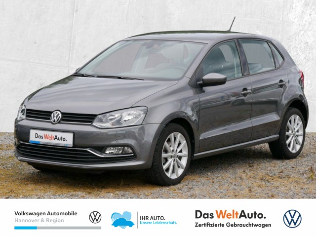 Volkswagen Polo 1.2 TSI Highline Navi GRA Klima PDC Sitzheiz, Jahr 2017, Benzin