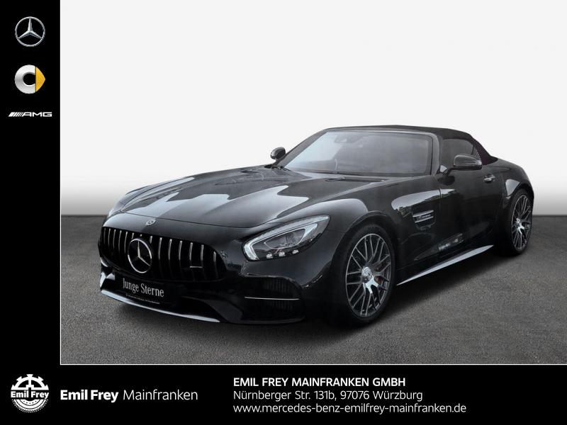 Mercedes-Benz AMG GT C Roadster+Keram+Spur+DynPlus+HiFi+COMAND, Jahr 2018, Benzin