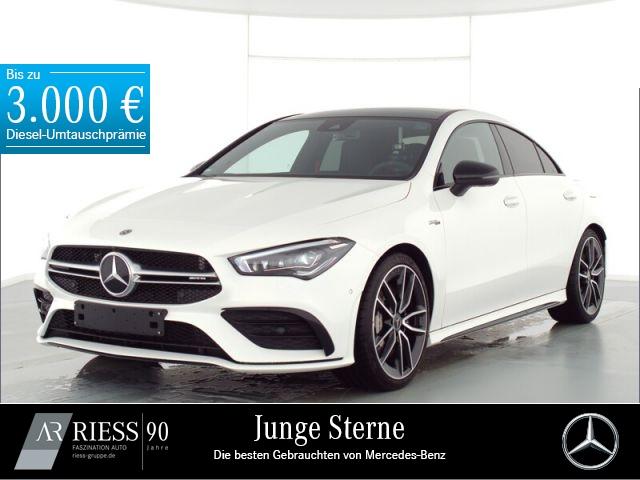 Mercedes-Benz CLA 35 AMG 4M Cp Pano Multi Night Distr PerfLenk, Jahr 2020, Benzin