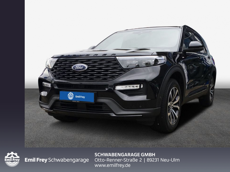 Ford Explorer EcoBoost Plug-in Hybrid ST-LINE 336 kW, 5-türig (Benzin/Elektro), Jahr 2020, Hybrid