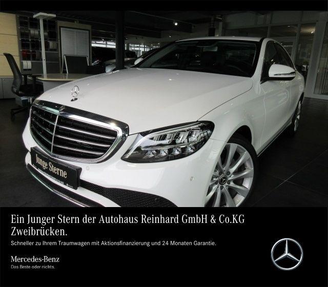Mercedes-Benz C 160 NeuMod+19''+Leder+Sitzklima+Kam+Comand+SHD, Jahr 2018, Benzin