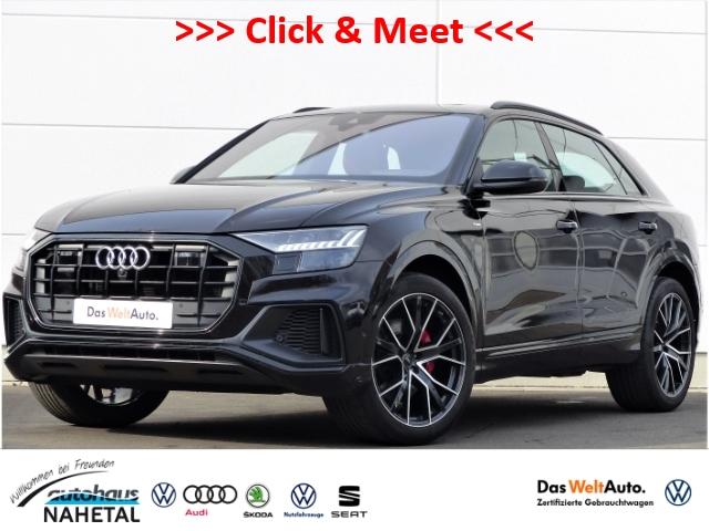 Audi Q8 50 3.0TDI S-LINE MATRIX-LED NAVI+ 22'' HEAD-UP AIR ACC PANO B&O 4Z-KLIMA STANDHZG. 360, Jahr 2018, Diesel
