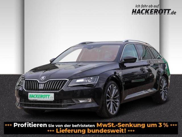 Skoda Superb Combi L&K 2.0TDI DSG AHK Leder Bi-Xenon Navi e-Sitze Rückfahrk. Panodach, Jahr 2016, Diesel