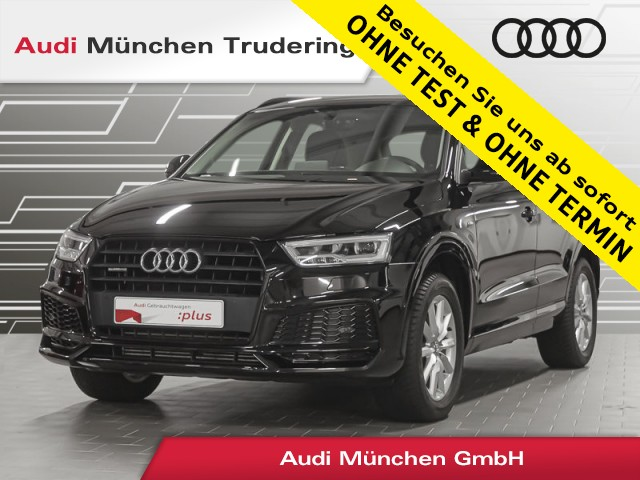 Audi Q3 2.0 TFSI qu. S line/LED/FIS/Navi-Paket/Parklenkassistent, Jahr 2018, Benzin