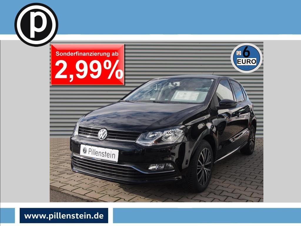 Volkswagen Polo Allstar 1.0 KLIMA SITZHZG. PARKPILOT+ Alu, Jahr 2016, Benzin