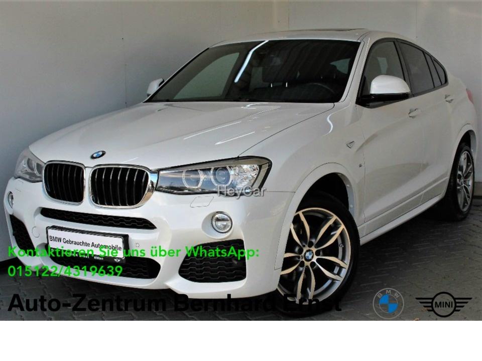 BMW X4 xDrive20d M Sport Navi Prof. Klimaaut. Xenon, Jahr 2017, Diesel