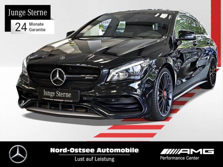 Mercedes-Benz CLA 45 AMG 4M SB Comand Drivers-P.+Pano+Kamera, Jahr 2017, Benzin