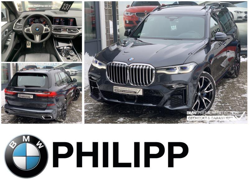 BMW X7 xDrive30d M Sportpaket Laser St.Hz. Sky HUD, Jahr 2020, Diesel