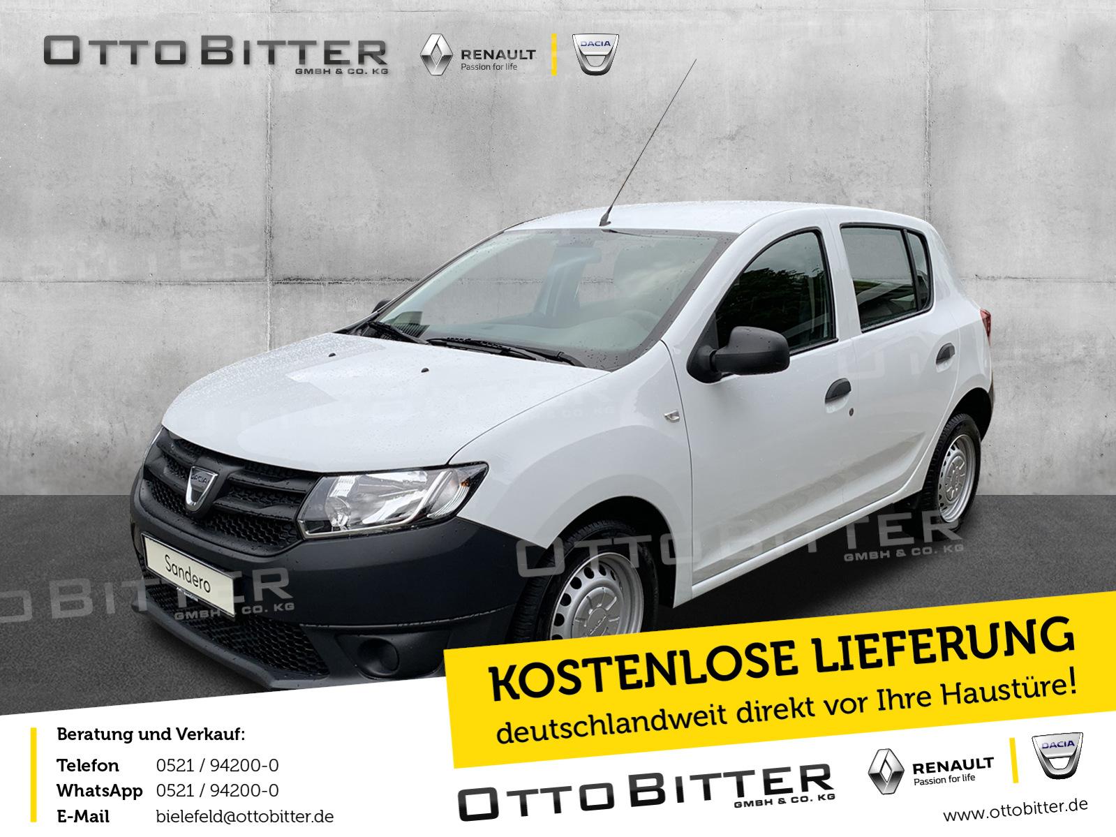 Dacia Sandero Essentiel 1.2 GANZJAHRESREIFEN/RADIO, Jahr 2014, Benzin