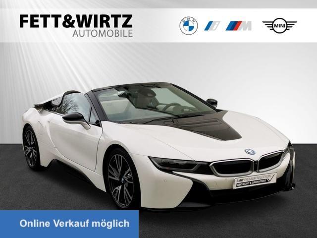 BMW i8 Roadster HUD LED H/K 20'' LR ab 1199,- br.o.A., Jahr 2019, Hybrid