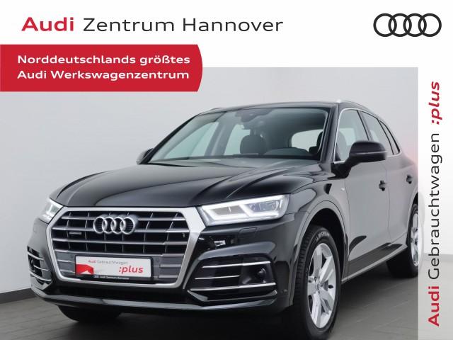 Audi Q5 40 TDI qu. S-line Sel., Pano, virtual, LED, AHK, Alcant., Jahr 2020, Diesel