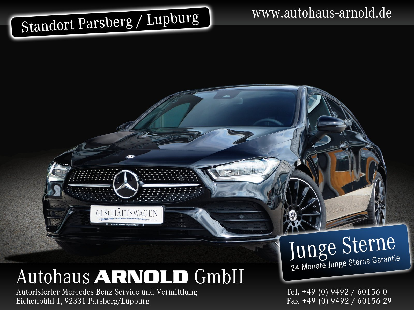 Mercedes-Benz CLA Shooting Brake AMG Line Night Navi DAB BC, Jahr 2020, Benzin