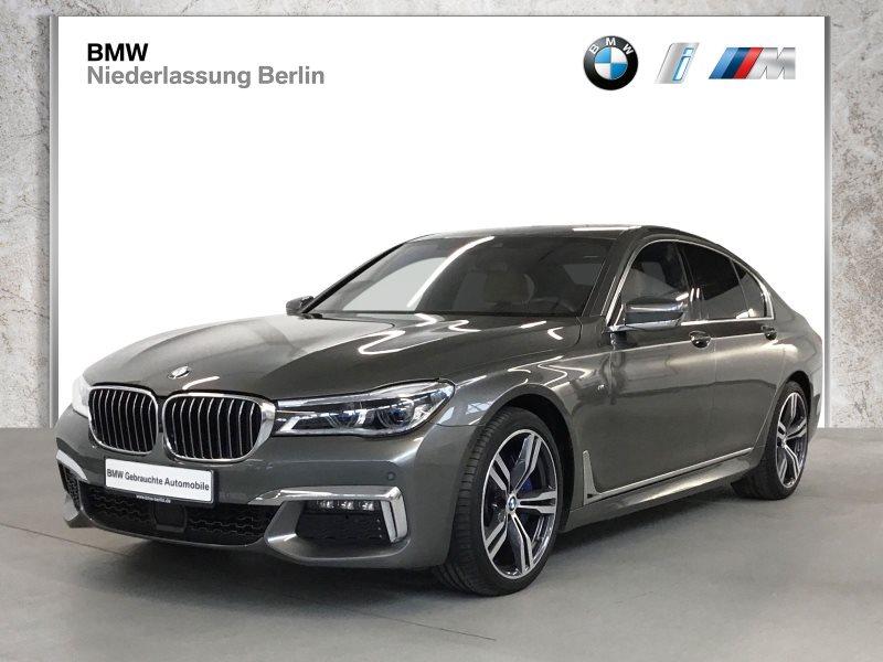 BMW 740d xDrive Lim. EU6 M Sport Laser Komfortsitze, Jahr 2018, Diesel
