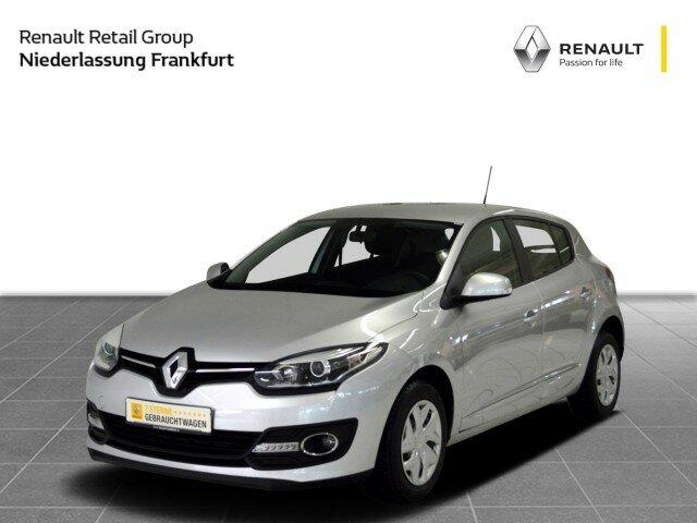 Renault MEGANE 3 PARIS 1.5 DCI 5-T. Klima, Tempomat, Blu, Jahr 2015, Diesel