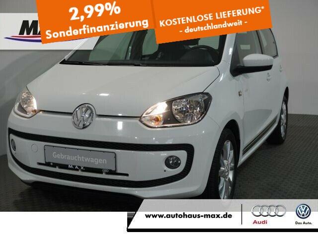 """Volkswagen up! Club Up! 1.0 NAVI+WINTERPAKET+ALU 15""""+SITZHZ, Jahr 2017, petrol"""