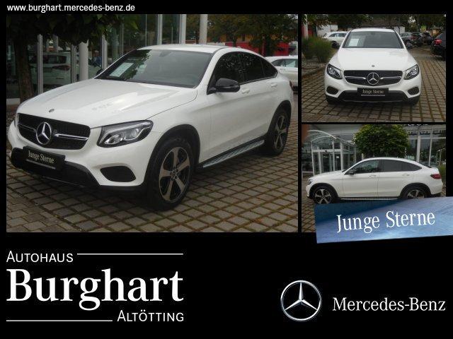 Mercedes-Benz GLC 300 4MATIC Coupé Night-Paket/LED/Kamera/Navi, Jahr 2018, petrol