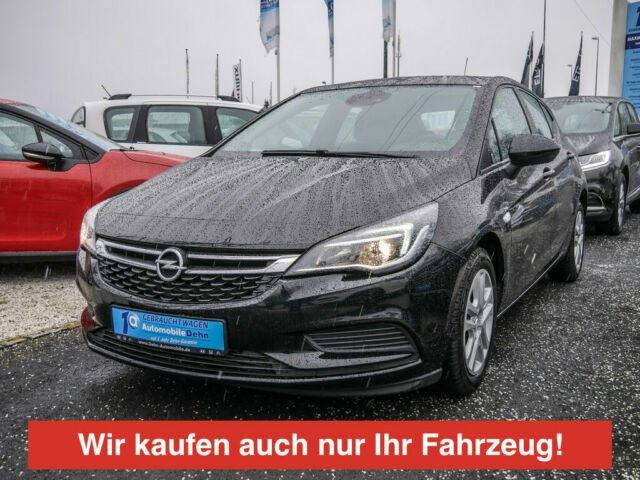 opel astra 1.4 turbo edition apple link pdc shz, jahr 2016, benzin