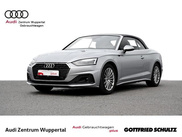 Audi A5 Cabriolet 35TDI LEDER KAMERA CONNECT LED GRA FSE KEYLESS MUFU 17ZOLL, Jahr 2020, Diesel