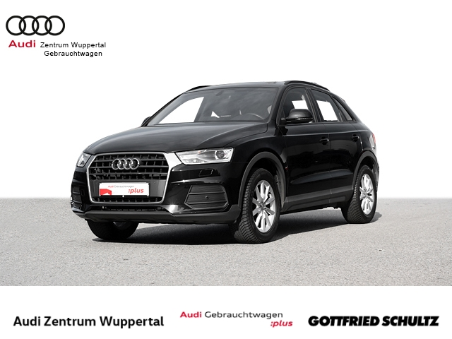 Audi Q3 1.4TFSI STANDHZG SHZ XEN NAV MUFU FSE PDC VO BT 17ZOLL, Jahr 2018, Benzin