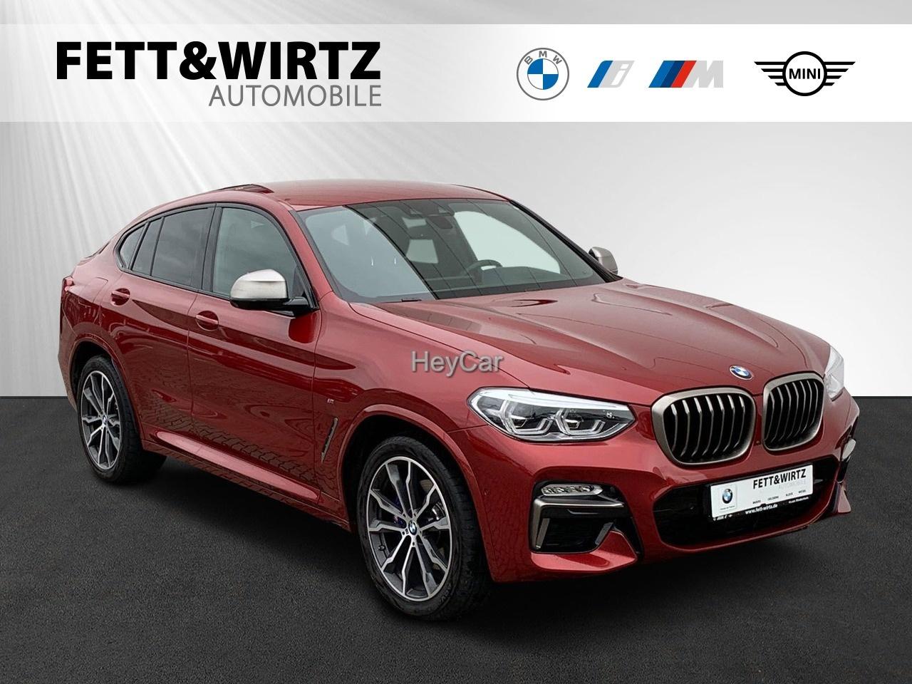 BMW X4 M40d MSport Navi Prof. HUD DA+ PA+ LED H&K, Jahr 2018, Diesel
